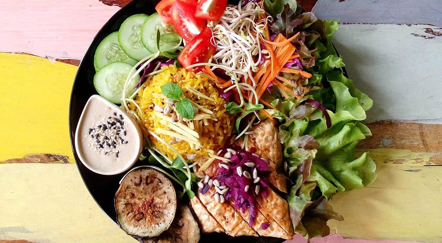 Vegan Food in Pai, Thailand